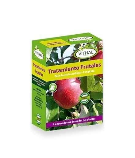 Tratamiento de fruales. Aceite insecticida + fungicida