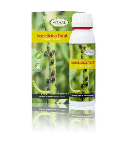 Insecticida Total. cythrin garden 250 ml